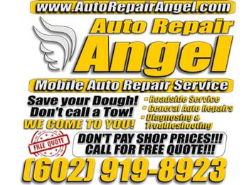 Auto Repair Angel Mobile Services in Gilbert AZ - (602)9198923